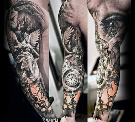 unique mens tattoo designs 70 unique sleeve tattoos for aesthetic ink design ideas