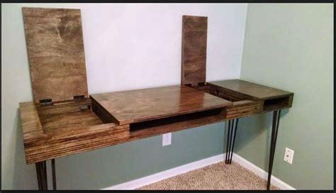 plywood desk diy 1000 ideas about desk on desks