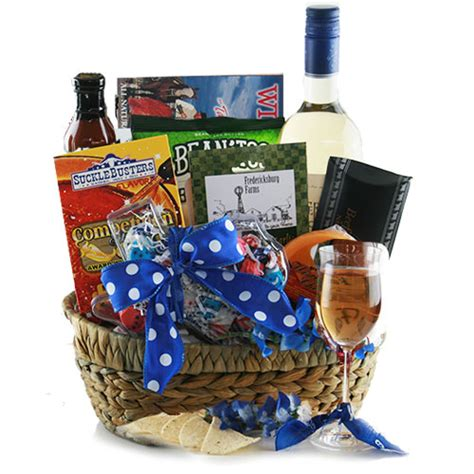 Country Gifts - hill country wine gift basket gift baskets