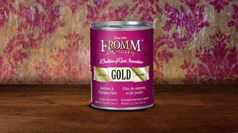 fromm gold food fromm gold canned food all is well pet products