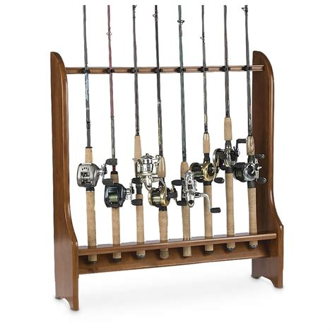 Fishing Rod Racks For Home by Organized Fishing 174 8 Rod Floor Rack 204728 Fishing