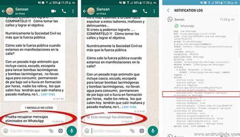 recuperar imagenes antiguas whatsapp whatsapp los mensajes eliminados se pueden volver a leer