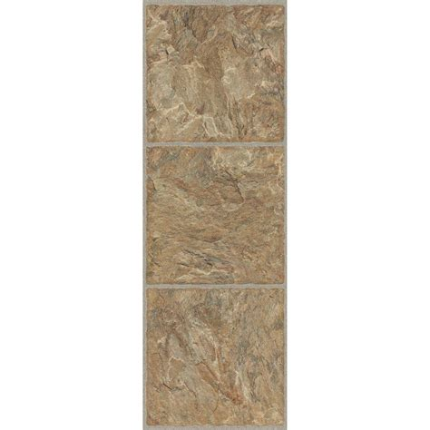 trafficmaster allure 12 in x 36 in red rock luxury vinyl