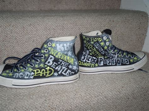 How To Decorate Your Converse by Decorated Converse Converse