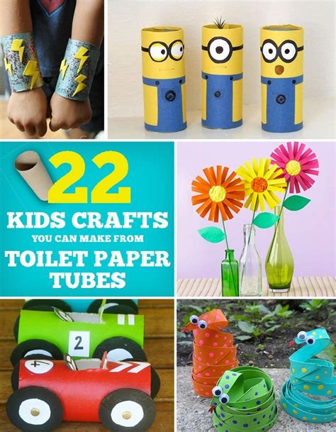 Crafts You Can Do With Toilet Paper Rolls - 22 cool crafts you can make from toilet paper