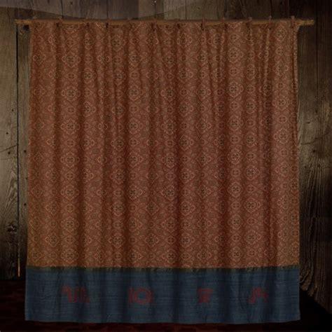 rodeo shower curtain cowboy wrangler shower curtain