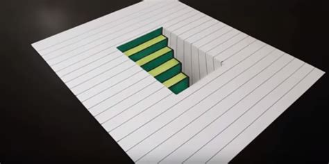 video tutorial gambar 3d contoh gambar 3 dimensi sederhana yang mudah di gambar