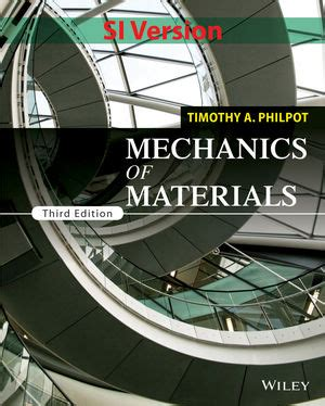 numerical methods in mechanics of materials 3rd ed with applications from nano to macro scales books wiley mechanics of materials 3rd edition si version