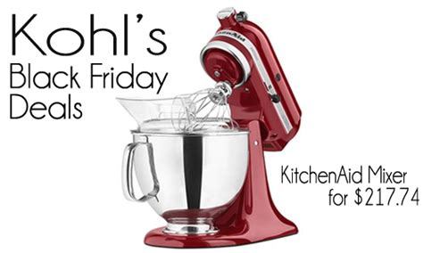 qt tutorial bogo kohl s black friday deals kitchenaid stand mixers more