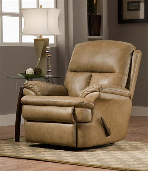 beige leather recliner beige top grain italian leather modern rocker recliner
