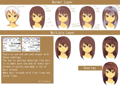 paint tool sai cell shading tutorial hair cell shading tutorial by firstiart on deviantart