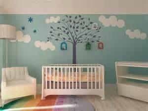tree wall stencil for nursery room contemporary wall