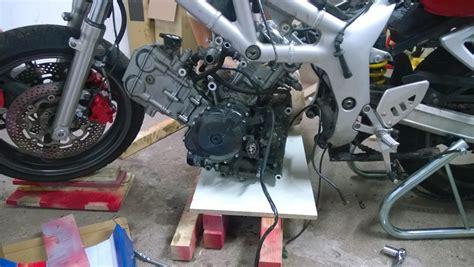 Motorrad Heber Rahmen by Svrider Forum Thema Anzeigen Ex Unfall Sv650s Boxenstop