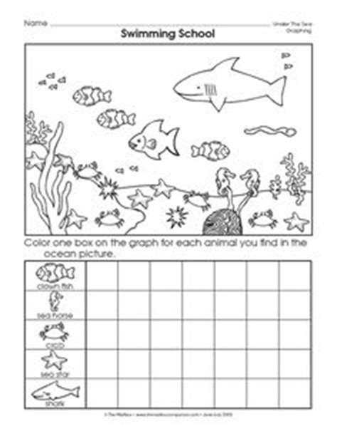 printable graphs for pre k 1000 images about ocean preschool theme on pinterest