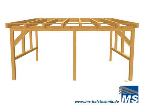 carport inklusive montage terrassendach bausatz f 252 r selbstaufbau oder montage durch