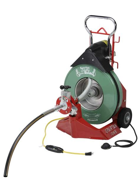 Spartan Plumbing Equipment by Model 1065 Drain Cleaning Machine Spartan Tool