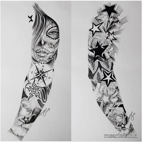 tattoo sleeve designs sketches forearm sleeve sketches amazing