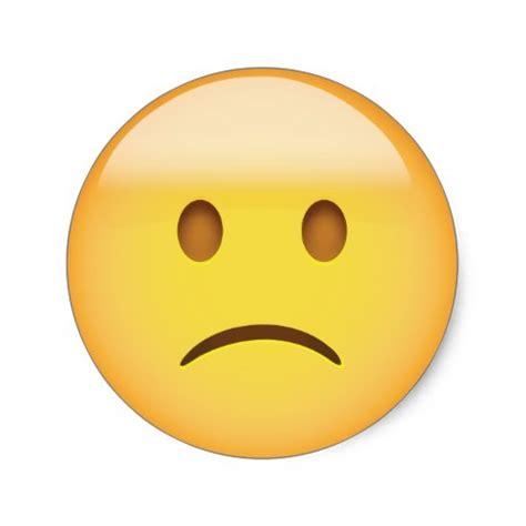 emoji sad face frown emoji emoji world