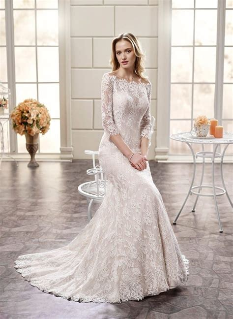 10 Beautiful long sleeve wedding dresses 2018 ? Eddy K