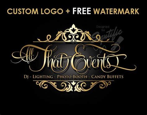 Custom Events Planning Logo Free Watermark Free Psd Source Event Planner Logo Template