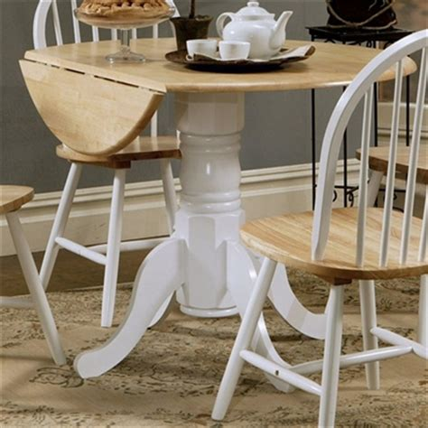 coaster furniture 4241 dining table with drop leaf