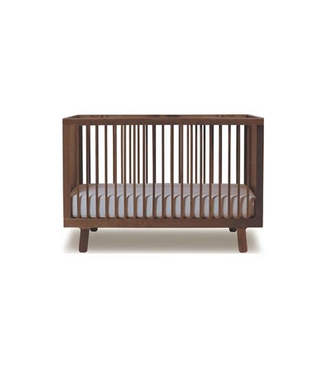 Walnut Cribs by Oeuf Sparrow Collection Crib In Walnut