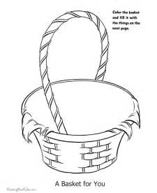 easter basket coloring pages easter coloring page 011