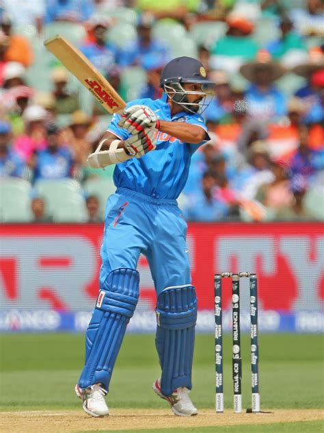 shikhar dhawan in india v pakistan 2015 icc cricket