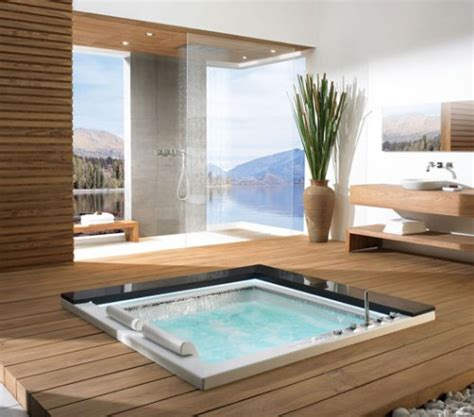 in floor bathtub 10 gorgeous in floor bathtubs shelterness