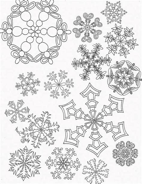 printable coloured snowflakes 45 snowflake coloring pages for girls snowflake