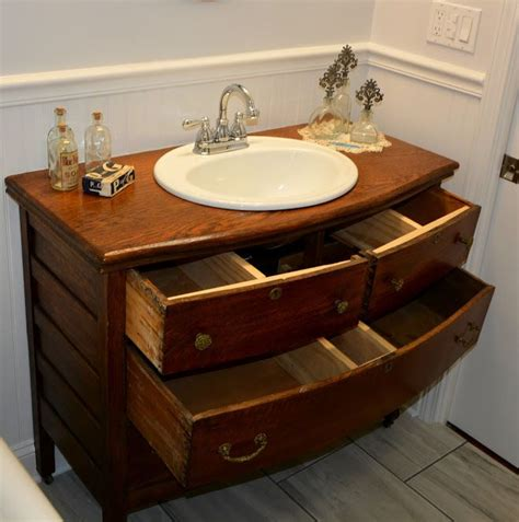 After installing the bowl i ripped a 1 quot x8 quot down to the depth of the drawers and made new side
