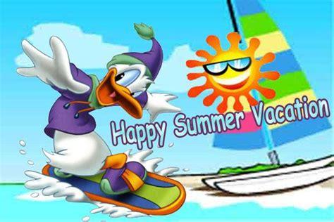 Happy Summer Vacation Wallpaper