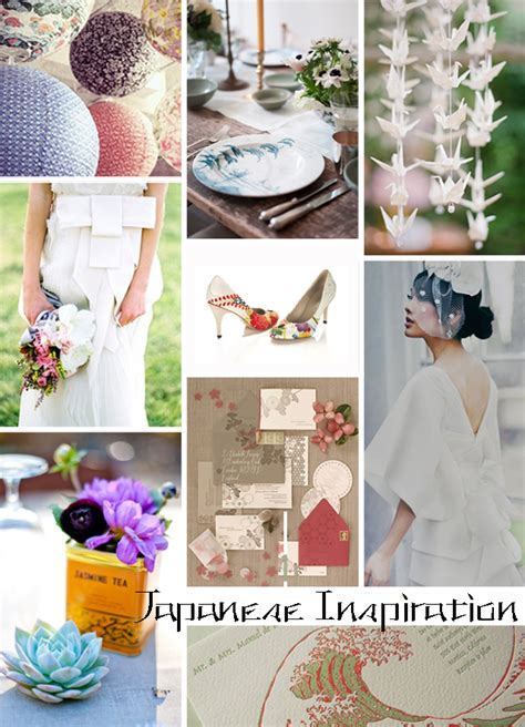 unique wedding ideas japanese influenced wedding style inspiration ideas
