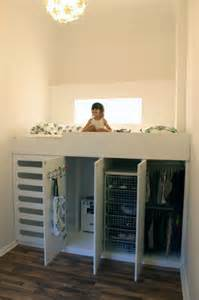 bett mit kleiderschrank amazing loft bed with a closet underneath great space