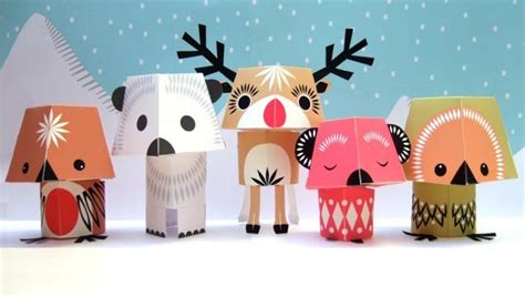 Paper Animal Crafts - animal paper crafts designed by mibo gadgetsin