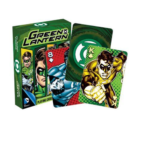 Green Lantern Gift Card - dc green lantern playing cards buy gag gifts