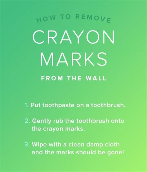 How To Remove Crayon From Car Interior by Remove Crayon From The Wall With Toothpaste 7 Cleaning