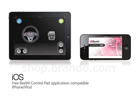 L Controlled By Iphone by Beewi Mini Cooper Coupe Bluetooth Controlled Car For