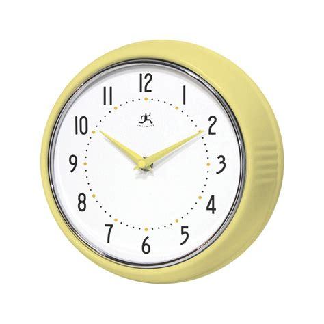 infinity retro wall clock infinity instruments retro 24cm wall clock shipping is