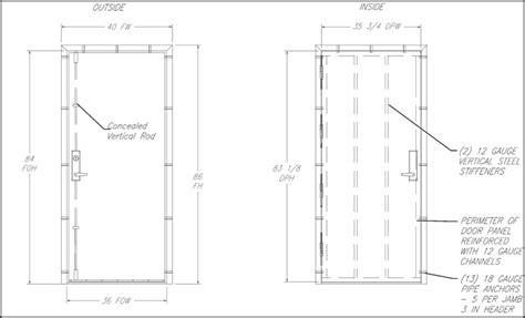 safe room dimensions securall fema 320 361 safe door tornado doors shelter door safe room doors