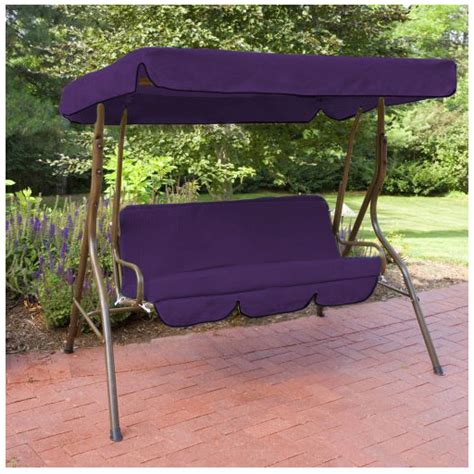 patio swing replacement seat replacement 3 seater swing seat canopy cover and cushions