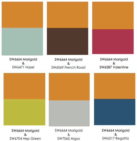 colors that go with orange color trend salt interiors