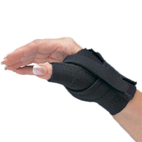 comfort cool thumb cmc restriction black splint splinting
