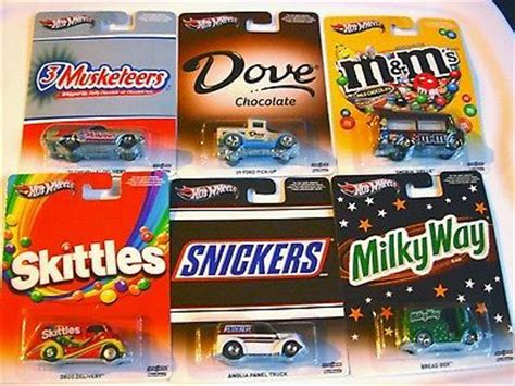 Hotwheels M complete wheels set edition snickers way