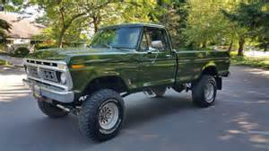 Ford F250 Highboy For Sale 1976 Ford F250 4x4 Highboy 390v8 60 S For Sale