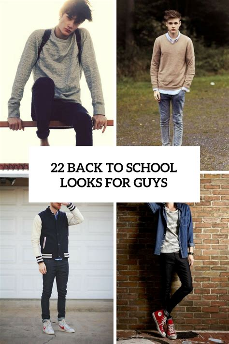 school for guys 22 cool back to school for guys styleoholic