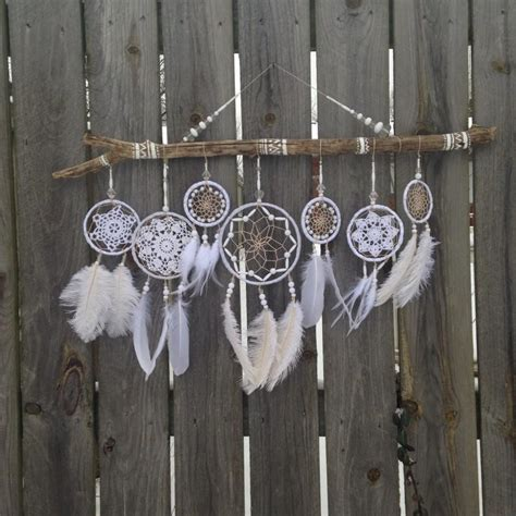 Twig Home Decor by Wedding Dreamcatcher White Dreamcatcher Giant