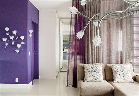 purple home decor ideas apartment decorating ideas with low budget