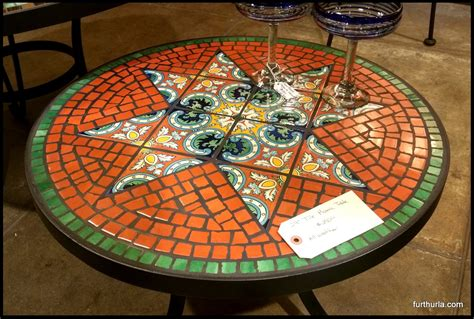 mosaic tile kitchen table mosaic kitchen table modern mobler redroofinnmelvindale com
