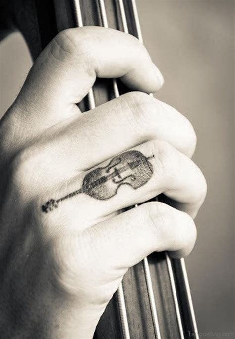 finger tattoo guitar 49 lovesome finger tattoos